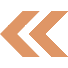 Left Arrow Orange